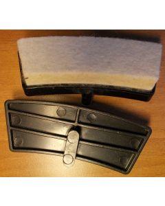 brake pads friction mats spin bike