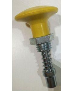 Yellow selector knob