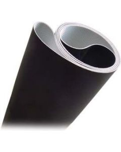 Double layer running belt 2ply
