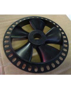 treadmill motor fan with encoder